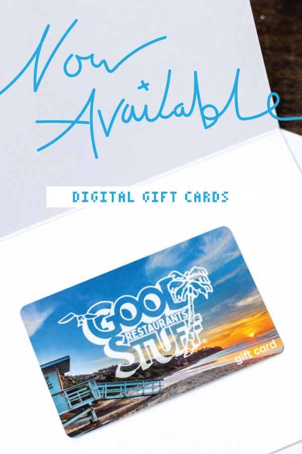 now available digital gift cards.