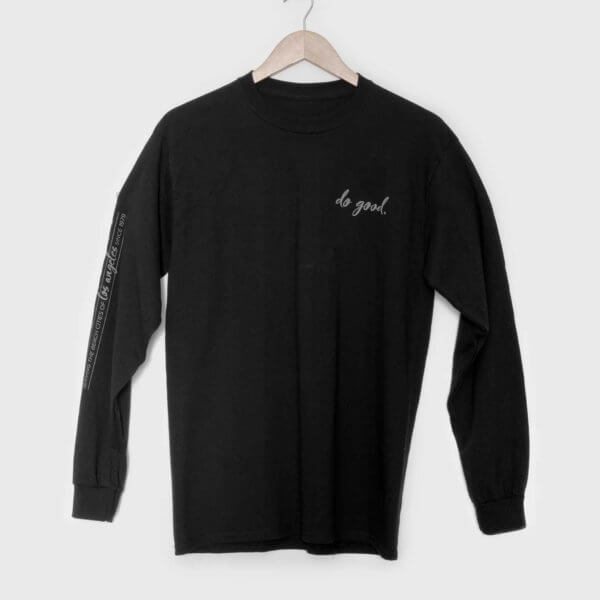 good stuff longsleeve t-shirt - unisex front