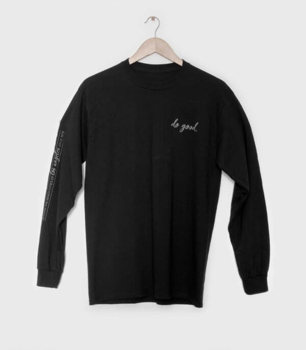 good stuff longsleeve t-shirt - unisex front
