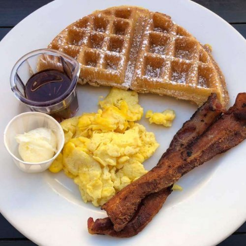 12 Waffle & Two Eggs
