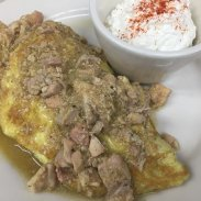 OMELETTES - Chicken Chile Verde