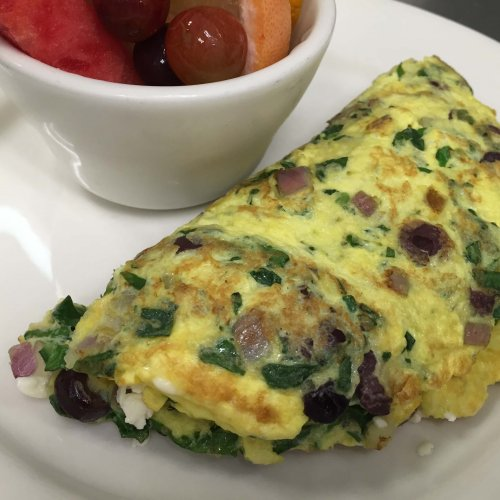 OMELETTES - Greek to Me
