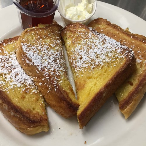 SOME STUFF WITH SYRUP - Thick Sliced French Toast