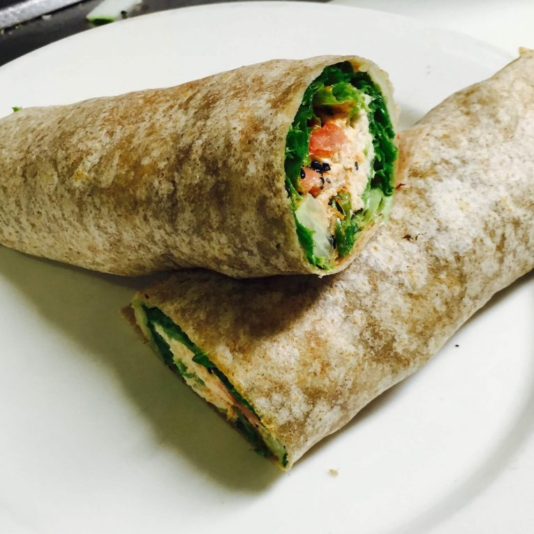 WRAPS - Spicy Tuna